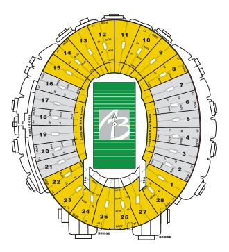 Rose bowl seating chart al brooks rose bowl tours