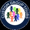Custom Group Tours Logo