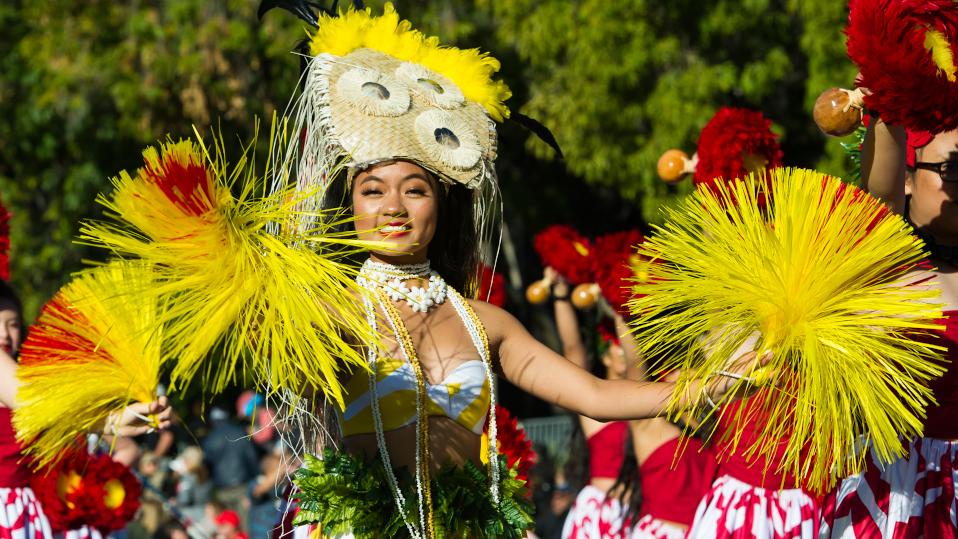 Rose Parade Dancer
